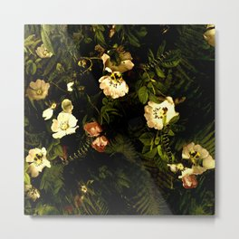 Floral Night III Metal Print