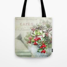 red berries  Tote Bag