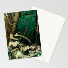 No God's Gonna Save You Now Stationery Cards