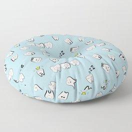Teeth pattern Floor Pillow
