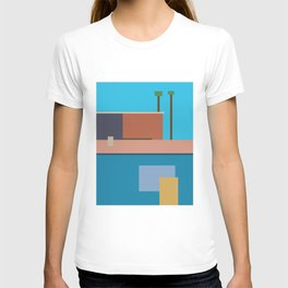 Homage To Hockney T-shirt