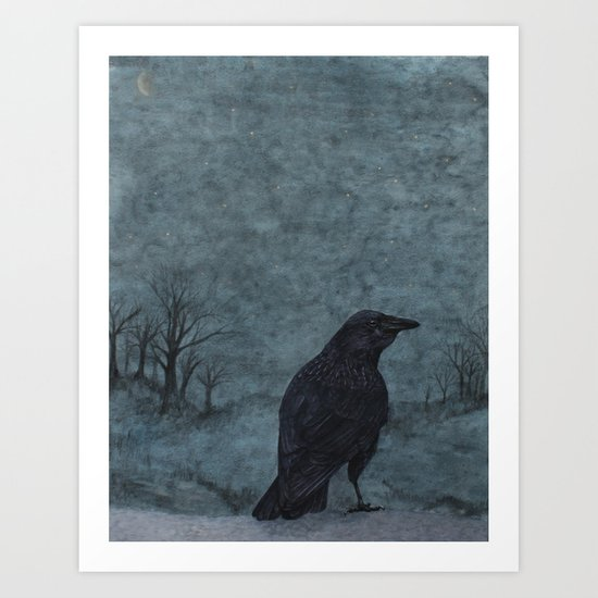 nightbird II Art Print