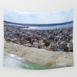 NH Beach Day Wall Tapestry