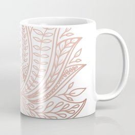 Botanical Lotus - Rose Gold Coffee Mug