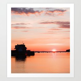 Sunrise Beach - cm2b Photography (2 of 7) Art Print