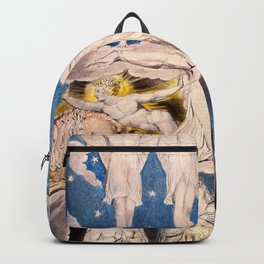 "William Blake ""When the Morning Stars Sang Together"" Backpack"