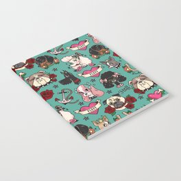 Tattoo Dogs Notebook