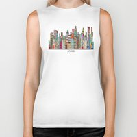 montreal Biker Tanks featuring montreal by bri.buckley