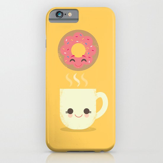 Coffee and Donut Buds iPhone & iPod Case