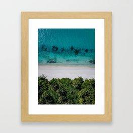 Maldivian island Framed Art Print