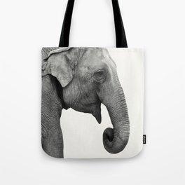Elephant Animal Photography Tote Bag