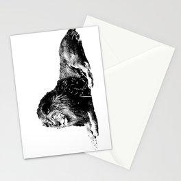 Lion Pen Strokes Stationery Cards