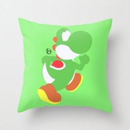 Yoshi(Smash) Throw Pillow