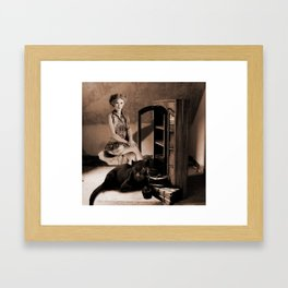Therian - Cat People Framed Art Print