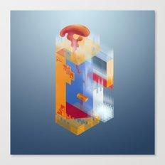Castle of Impossible Flavors Canvas Print
