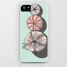 Sicilian sea urchins iPhone Case