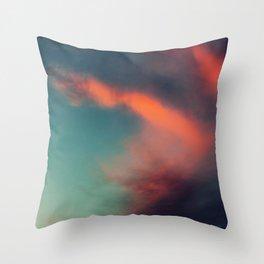Excuse Me While I Kiss the Sky Throw Pillow