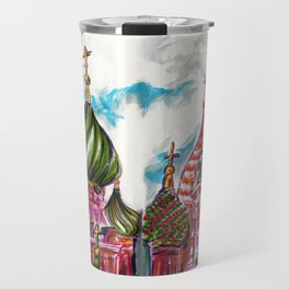 Moscow Saint Basil: Russian Series 2017 Travel Mug