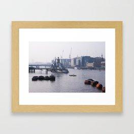 London - RT Framed Art Print