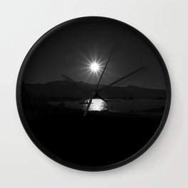Mono Lake 2 Wall Clock