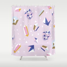 Magic and Crystals Shower Curtain