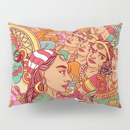 Inspired by India Pillow Sham