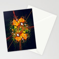 Galaxy Explosion Stationery Cards