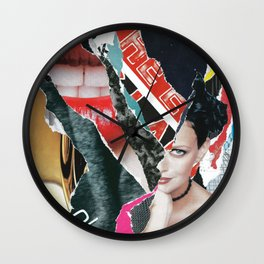 Internet Chatter Wall Clock