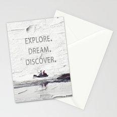 Explore.Dream.Discover. Stationery Cards