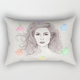Fruit Machine Rectangular Pillow