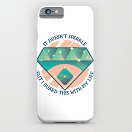 Baseball Quote iPhone Case