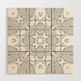 outback lines Wood Wall Art