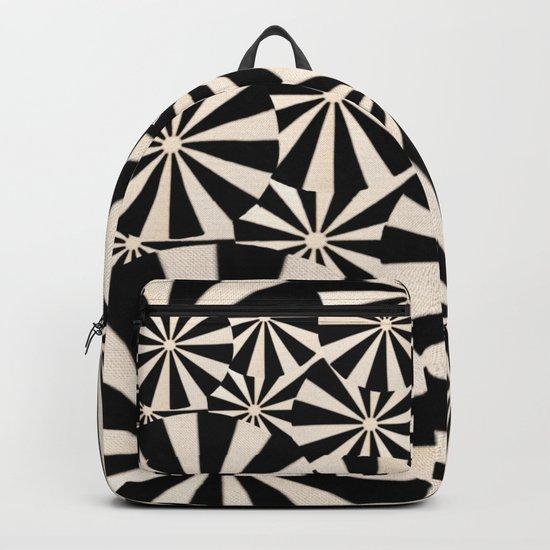 Crowded Beach Backpack