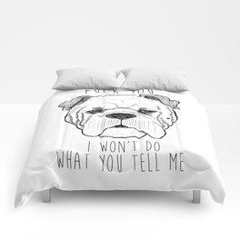 Bulldog Comforters