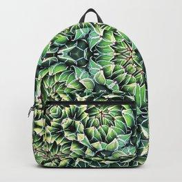 Succulent Splendor Three Backpack