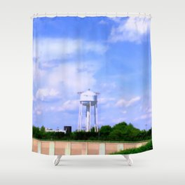 Historic Frederick Maryland Crestwood Water Tower Shower Curtain