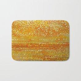 Landscape Dots - Orange Bath Mat