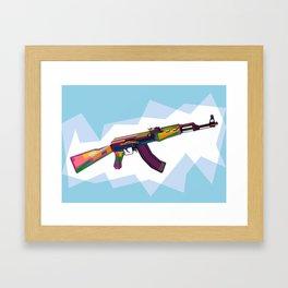AK-47 Framed Art Print