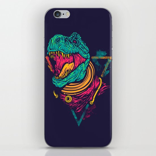 Space Rex iPhone & iPod Skin