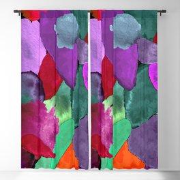 Color crash Blackout Curtain