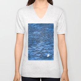 Man & Nature - The Dangerous Sea Unisex V-Neck