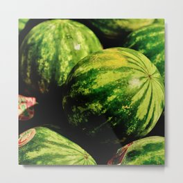 Wait, Watermelon. Metal Print