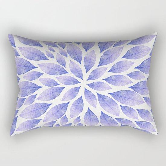 Petal Burst #22 Rectangular Pillow