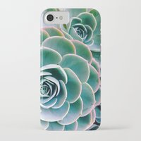 succulents iPhone & iPod Cases featuring Succulents by Ez Pudewa