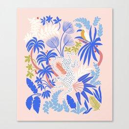 Rainforest Leopard Canvas Print