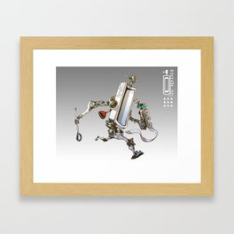 Toiletbots - Duchampion 9000 Framed Art Print