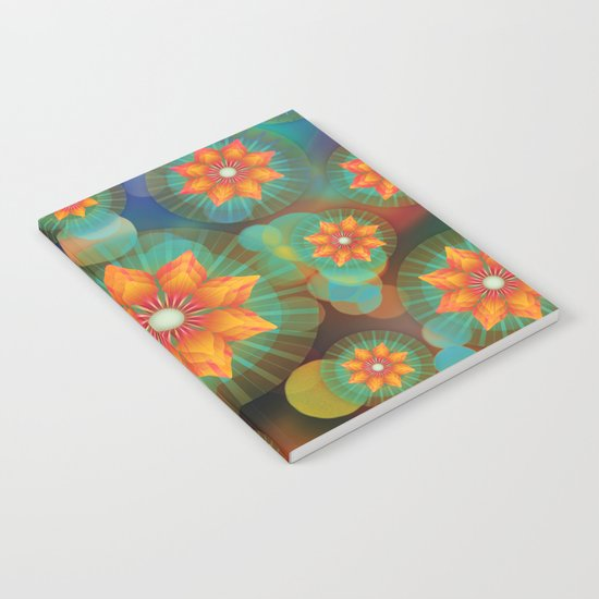 Lovely Floral Pattern Notebook