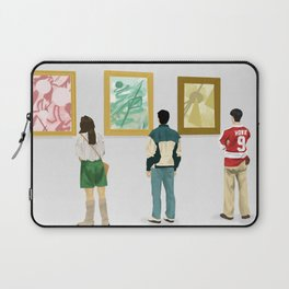 Ferris Bueller at the Art Museum Laptop Sleeve