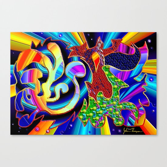 Dimension Canvas Print