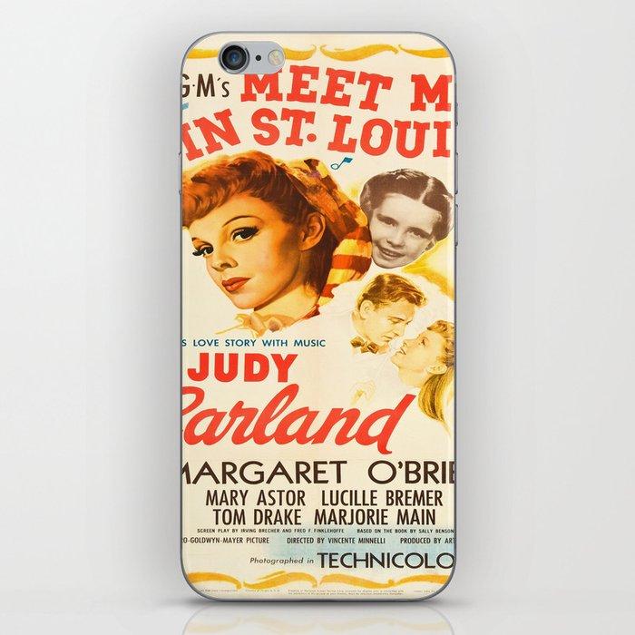 Vintage poster - Meet Me in St. Louis iPhone Skin